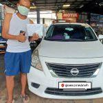 Nissan_Almera_เกียร์CVTเร่งอืด หน่วงหัวคันเร่ง ไม่ค่อยมีแรง เปลี่ยนเกียร์ช้า รอบสูง กว่าเกียร์จะเปลี่ยน สาเหตุส่วนหนึ่งมาจากน้ำมันเกียร์สกปรก ดูแลรถ ดูแลเกียร์ ใจไม่เพลีย เกียร์ไม่พัง